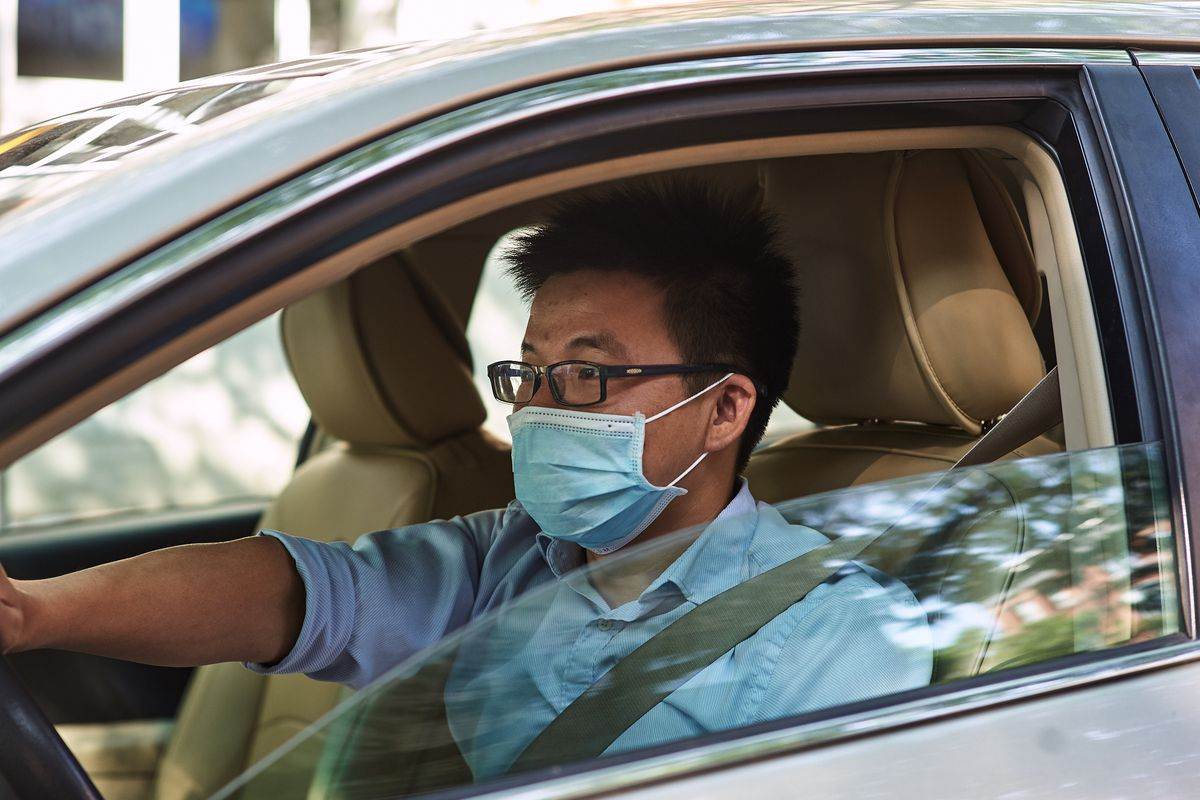 Michael Guo says Brooklyn has had a car boom since the pandemic began, Aug. 9, 2020.