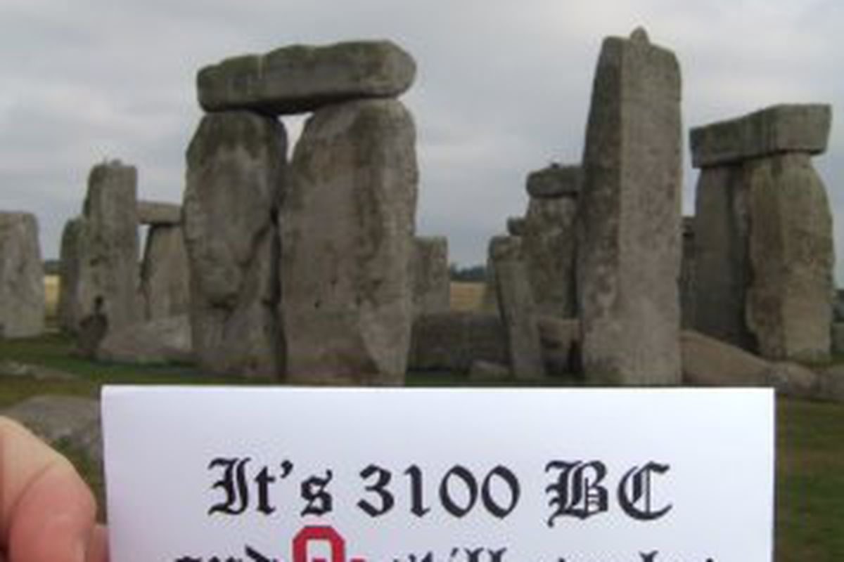 It's 3100 BC and OU still sucks.
