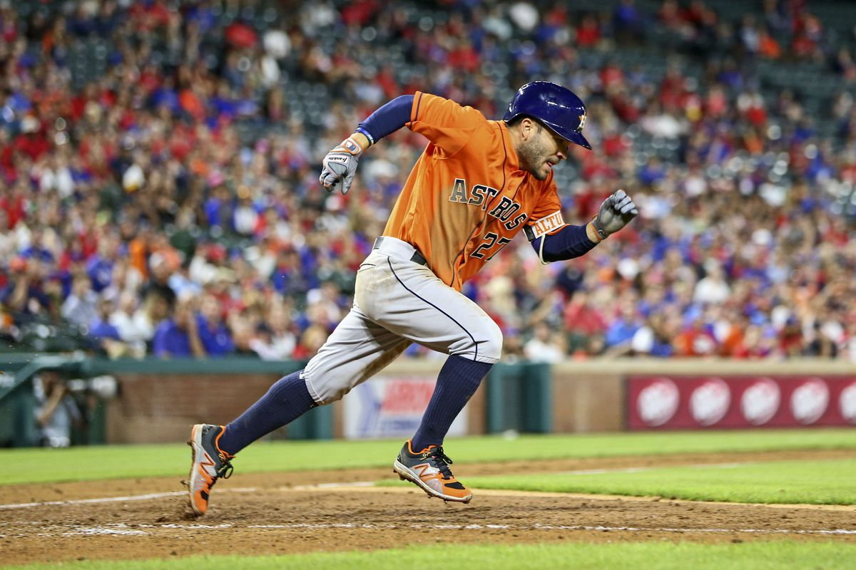 Jose Altuve has second base on lockdown in Houston...right?