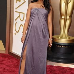 A pregnant Kerry Washington wore Jason Wu gray custom-made for his first appearance on the Oscars red carpet. Find Wu at Nordstrom at Fashion Show.