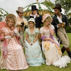 """The cast of """"Austenland"""" wears costumes from the era of Jane Austen."""
