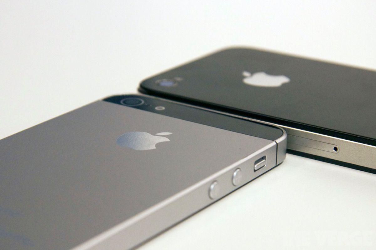 Gallery Photo: iPhone 5 mockup at IFA 2012