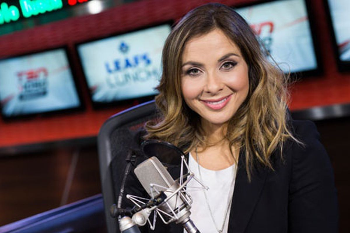 Andi Petrillo, the new host of TSN Radio's Leafs Lunch.