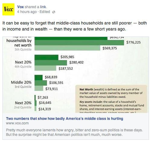 Facebook click bait