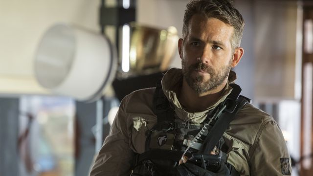 Reynolds in military gear.
