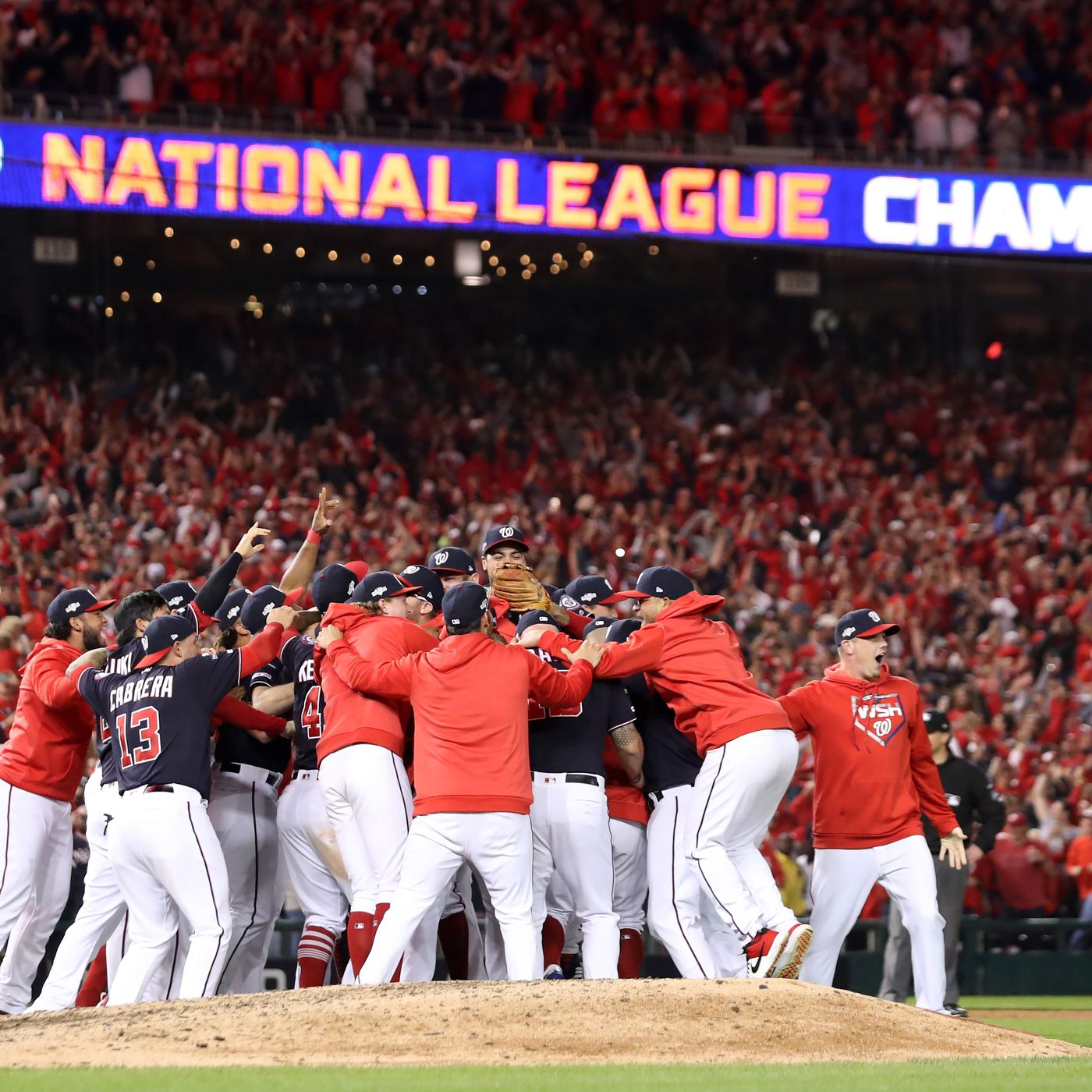 theringer.com - Claire McNear - The Nationals Complete the Sweep and Are Headed to the World Series