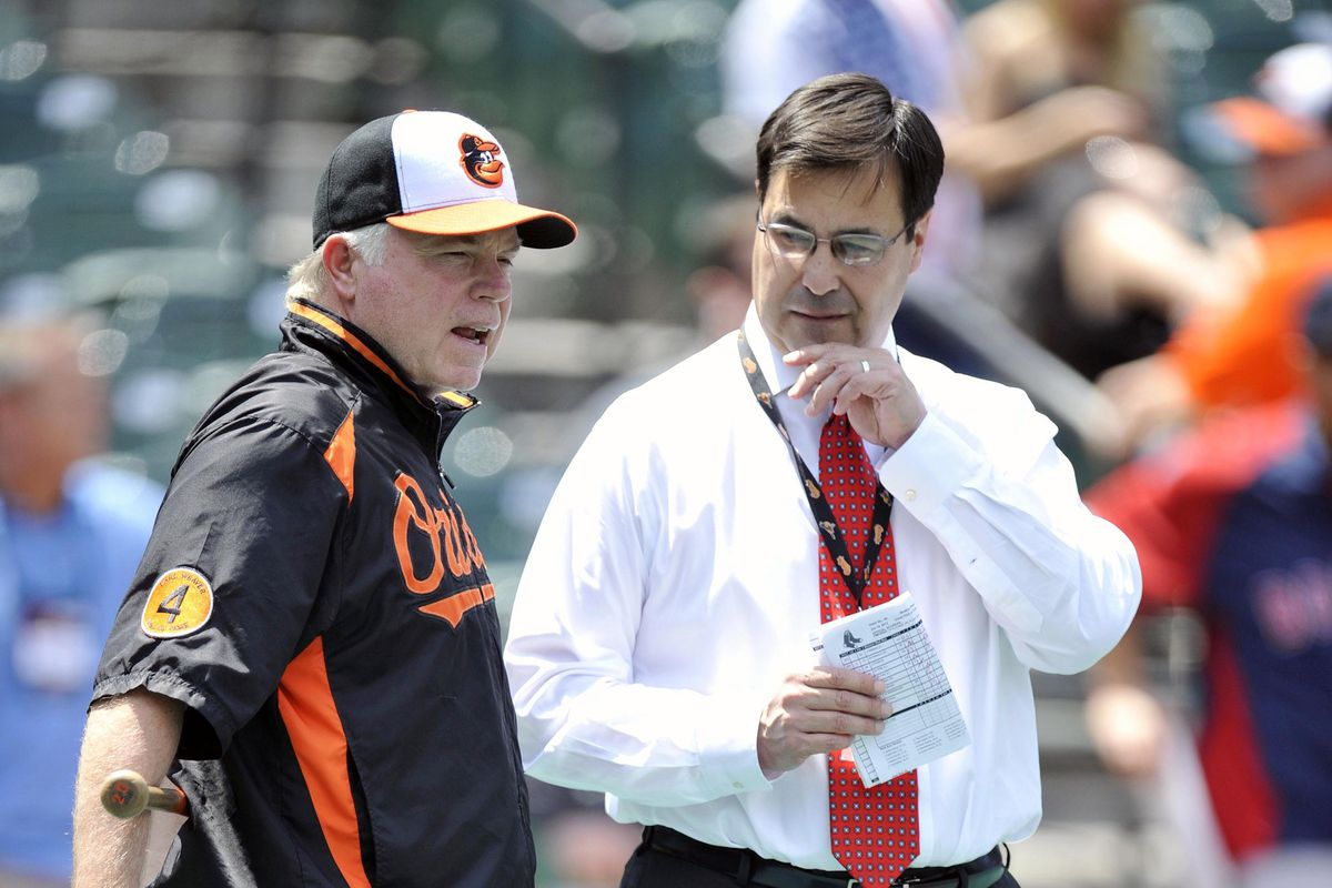 Buck Showalter and Dan Duquette haven't done much...yet.