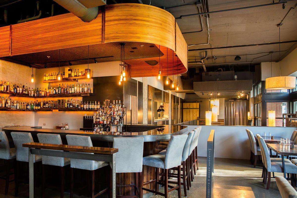 The new bar at Adana.