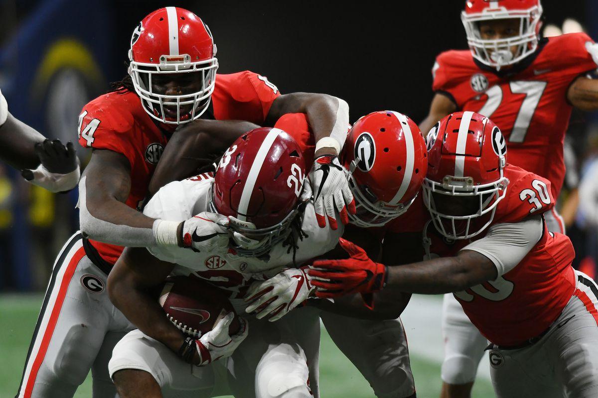 COLLEGE FOOTBALL: DEC 01 SEC Championship Game - Georgia v Alabama