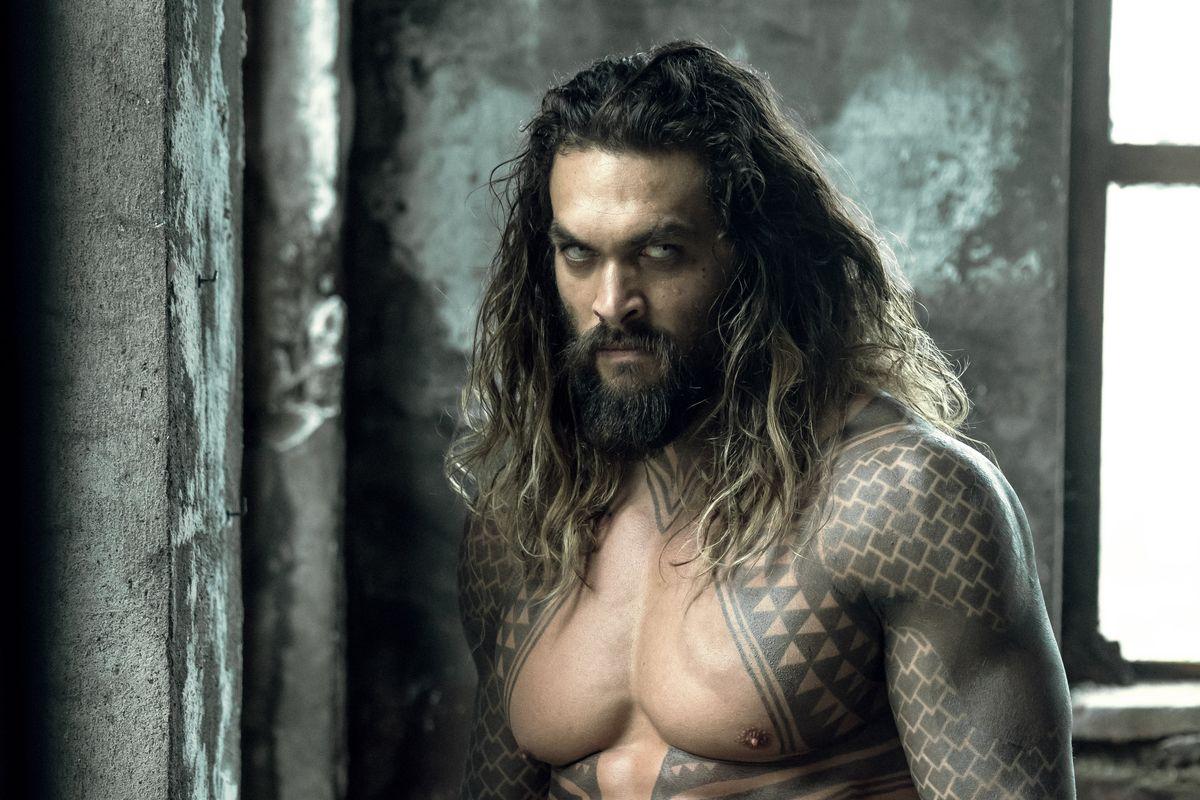 Jason Momoa as Peter Curry/Aquaman in Justice League