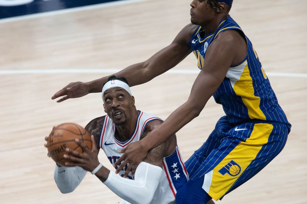 NBA: Philadelphia 76ers at Indiana Pacers