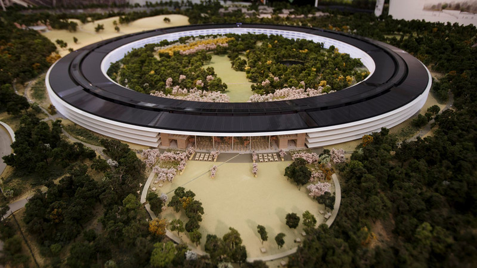 Apple S Spaceship Campus Shown To Scale In Gorgeous