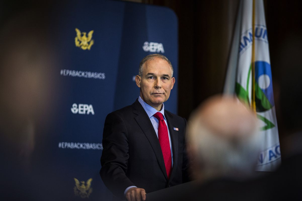 EPA Administrator Scott Pruitt will face questions from lawmakers over his agency's budget and likely the numerous allegations of ethical transgressions.