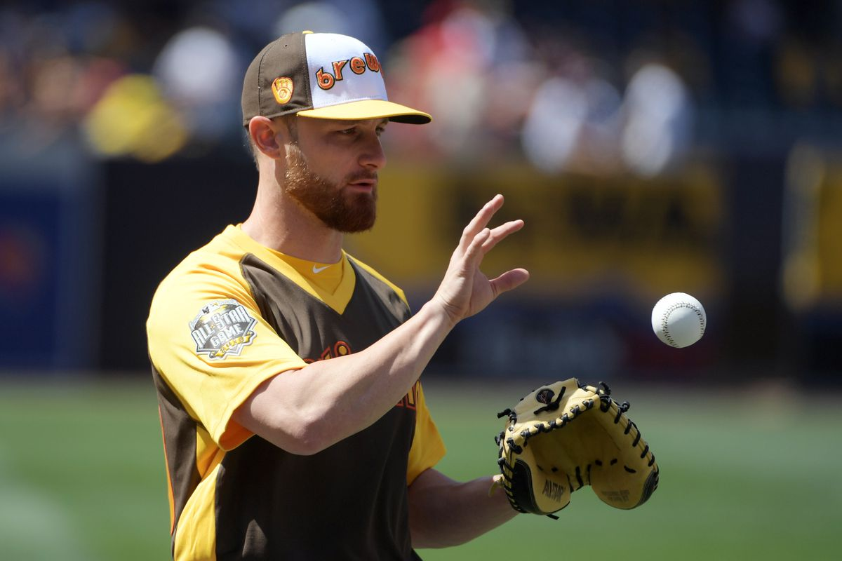 Jonathon Lucroy in San Diego for the All Star Game
