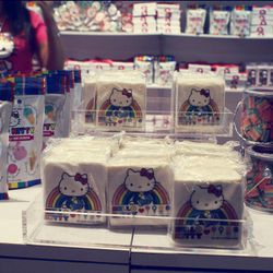 Dylan's Candy Bar created adorable sweets, like these crisped rice treats.