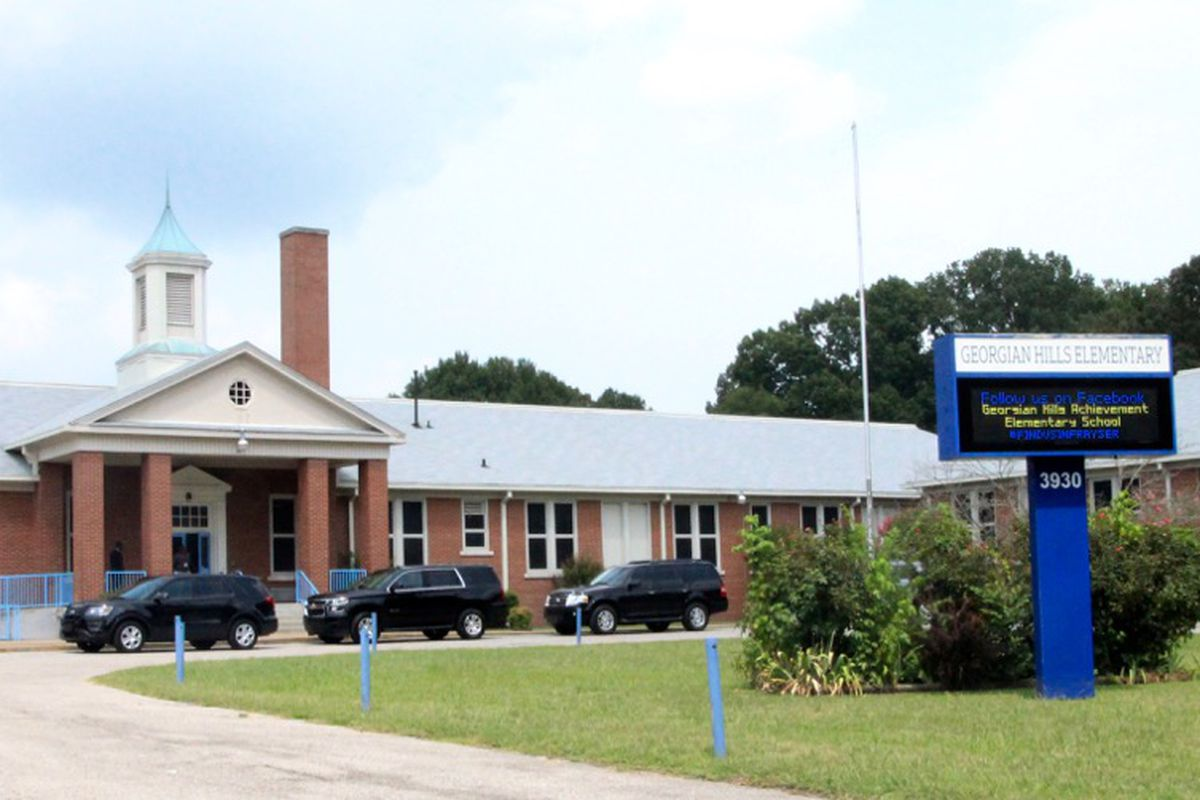 Georgian Hills Achievement Elementary was one of four school closed Tuesday due to heating issues.