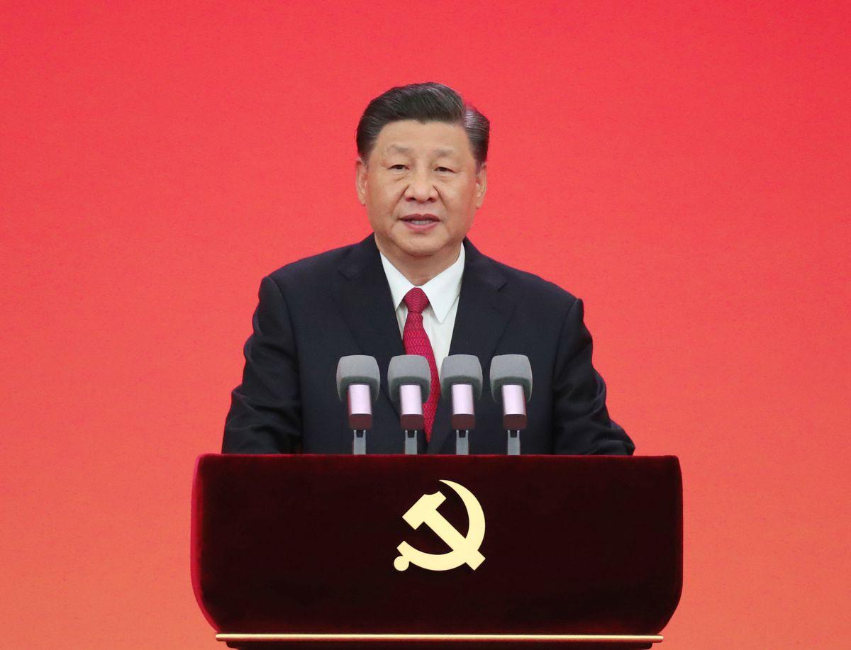 CHINA-BEIJING-XI JINPING-JULY 1 MEDAL-AWARD CEREMONY (CN)