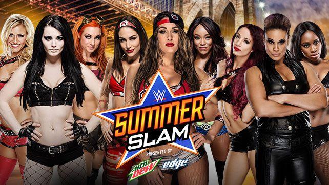 WWE SummerSlam divas revolution