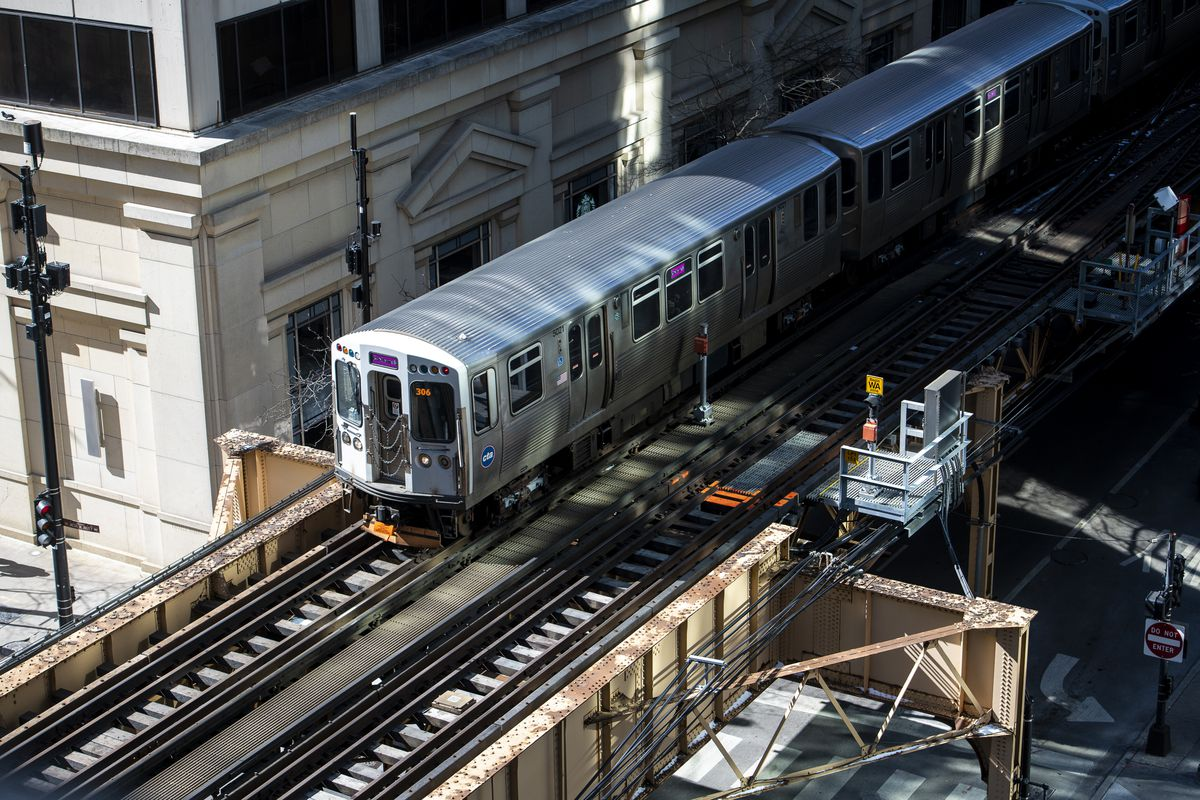 A man allegedly attacked a woman on a CTA train Oct. 13, 2021, in the Loop.