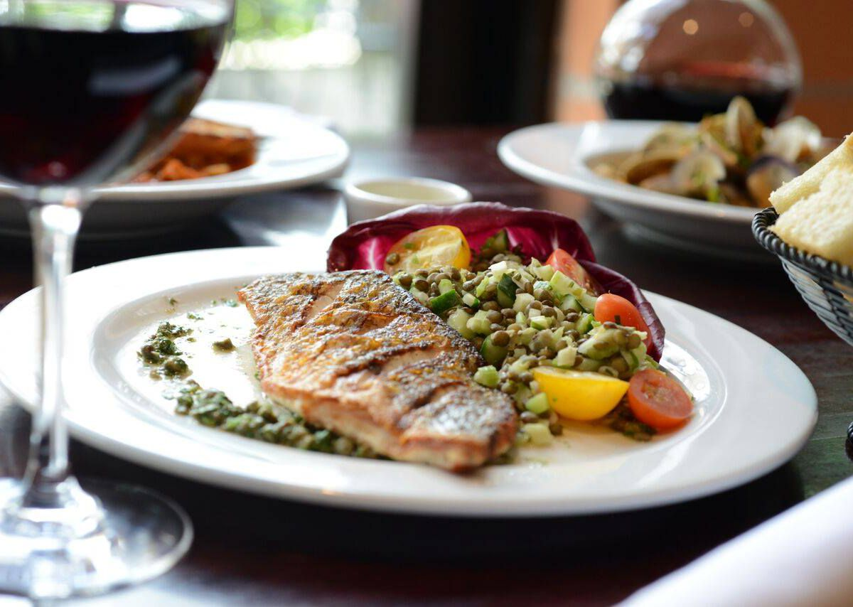 The Texas redfish at Gusto