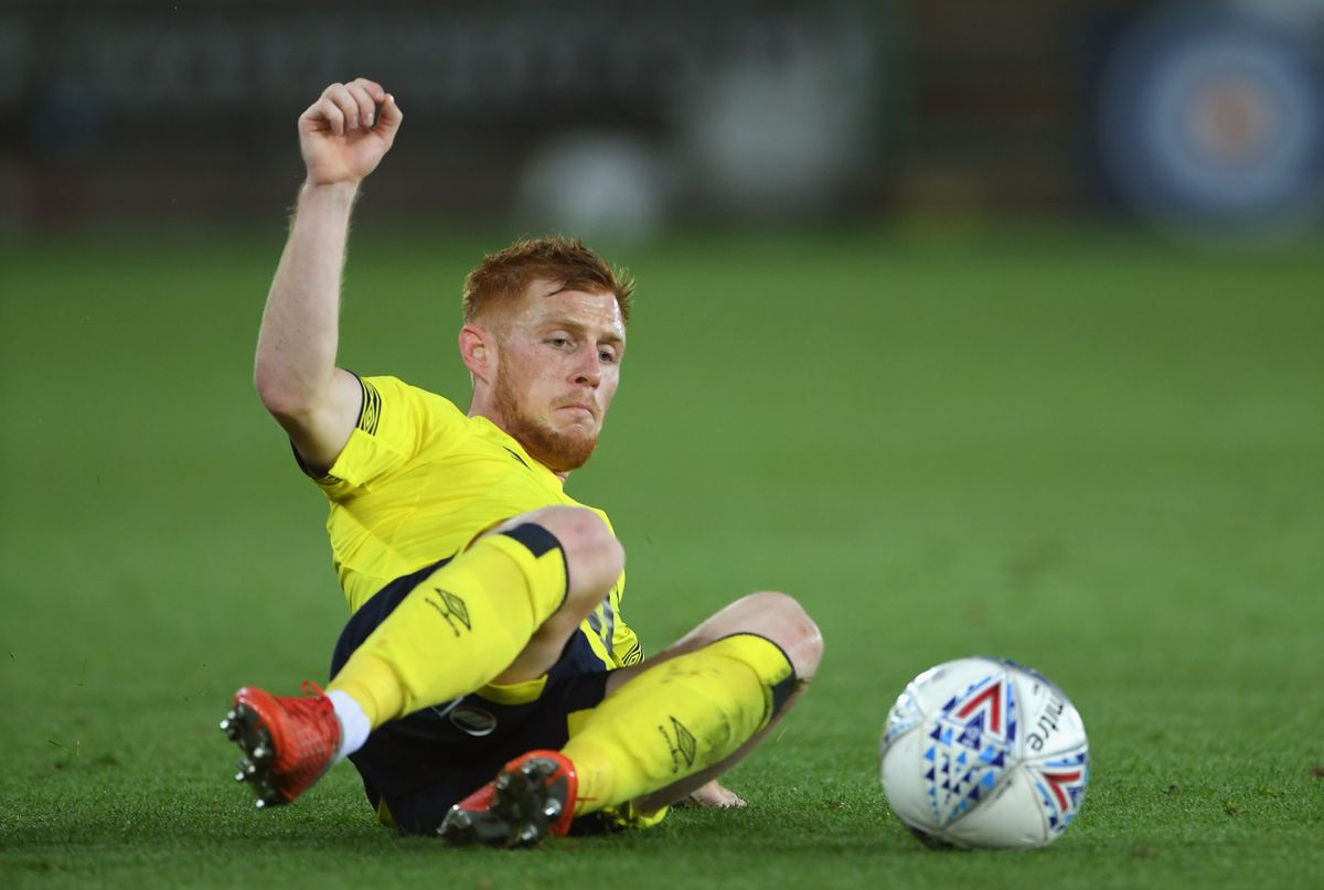 Southampon's Harrison Reed is currently on loan at Blackburn Rovers