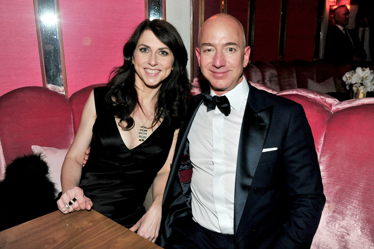 Image result for images of jeff Bezos in loss