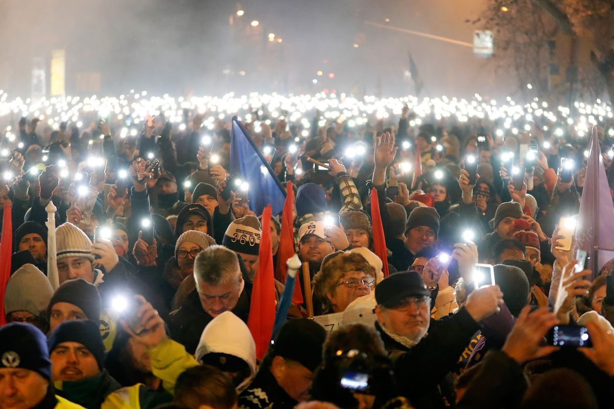 Hungary's prime minister stole the country's democracy. Now Hungarians are rising up.