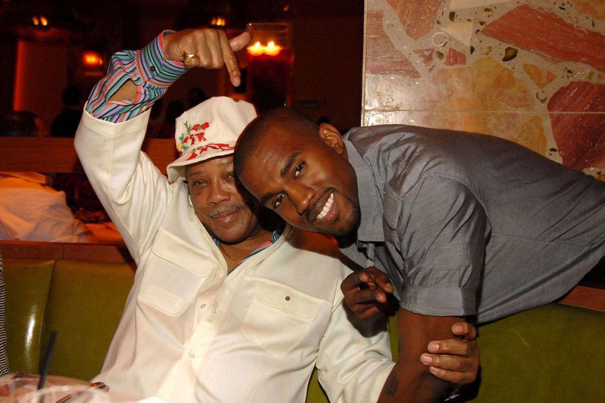 Quincy Jones and Kanye West