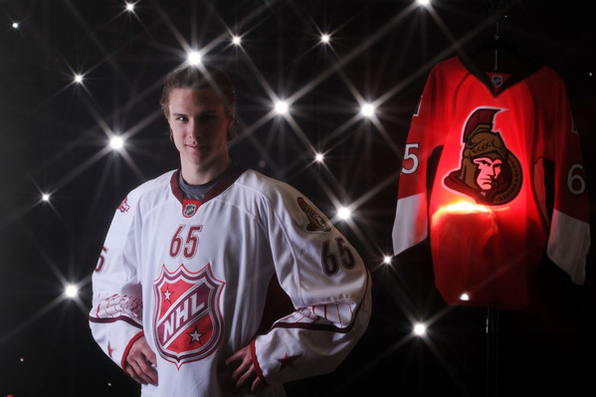 Erik Karlsson: I am a freaking All-Star! (Photo by Harry How/Getty Images)