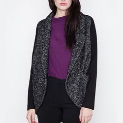 """<strong>Funktional</strong> Carbon Oversized Coat, <a href=""""http://www.shopacrimony.com/products/funktional-carbon-oversized-coat"""">$202</a> at Acrimony"""