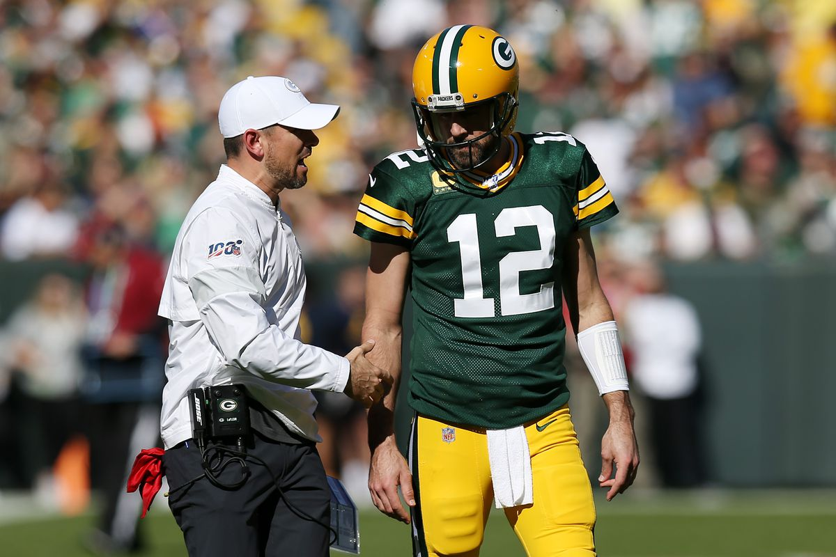 Billy Turner confirms that Aaron Rodgers' and Matt LaFleur's relationship  is just fine - Acme Packing Company