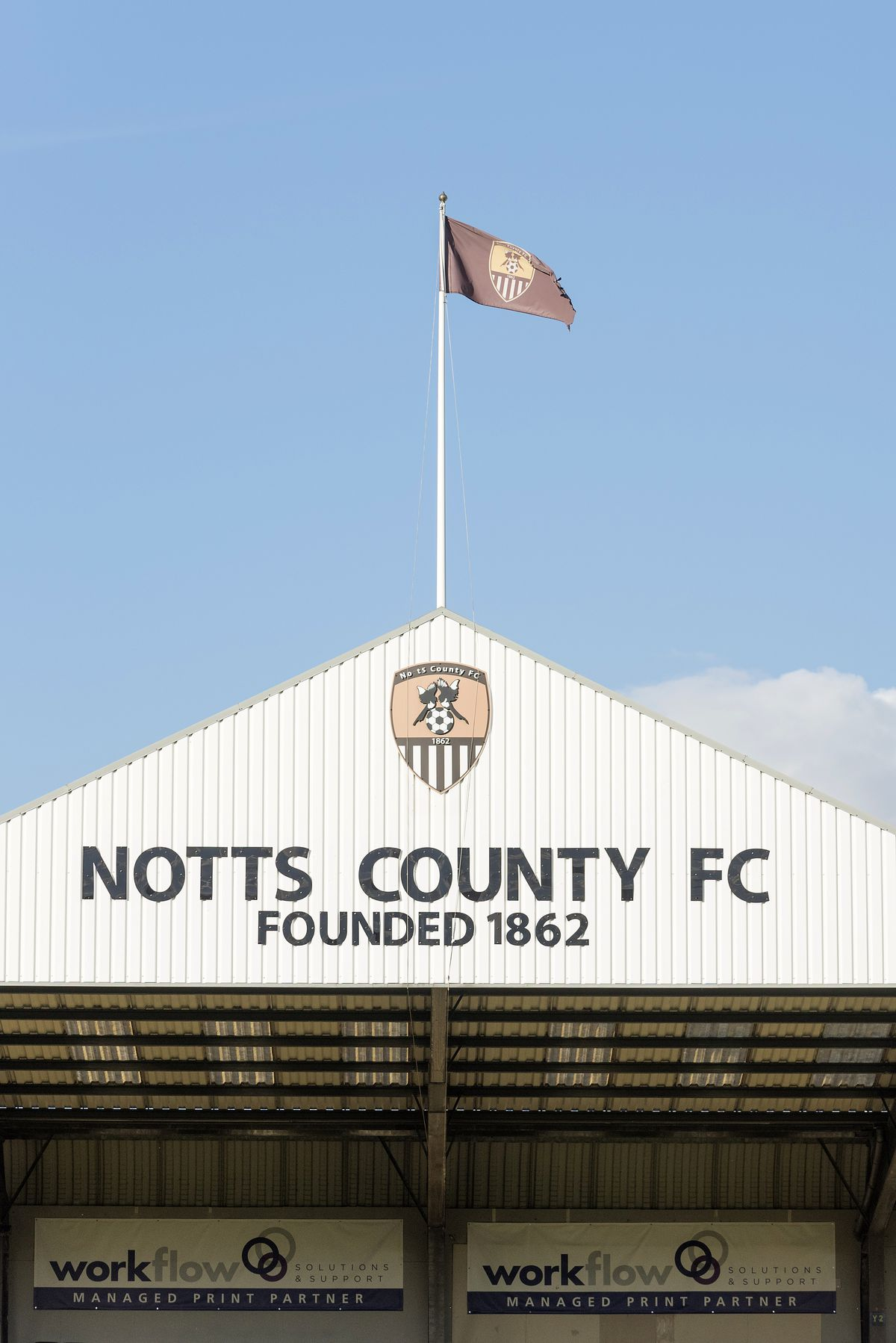 Notts County v Hartlepool - EFL Checkatrade Trophy