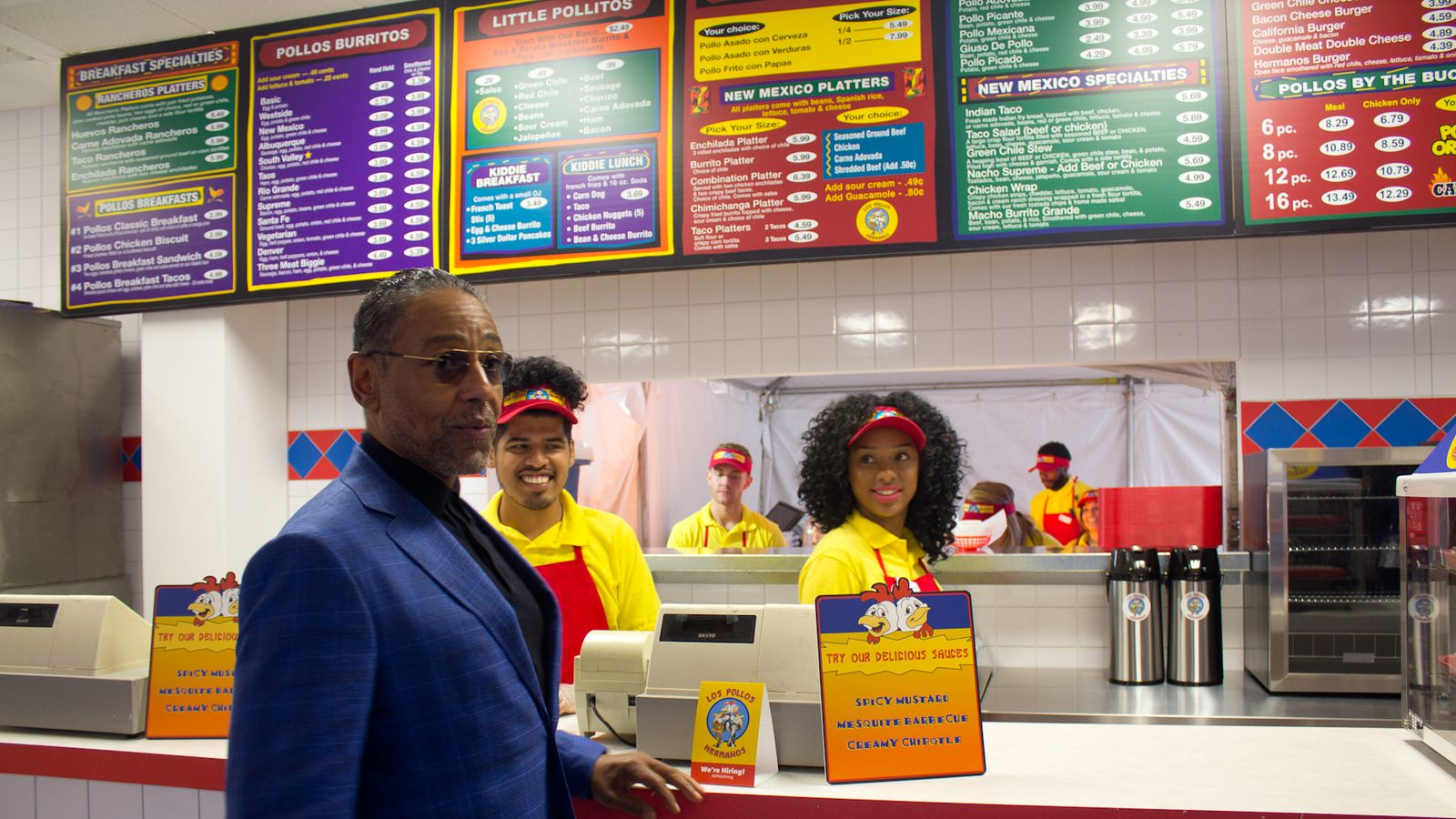 Los Pollos Hermanos From Breaking Bad Is Popping Up In LA This - Los angeles postal code
