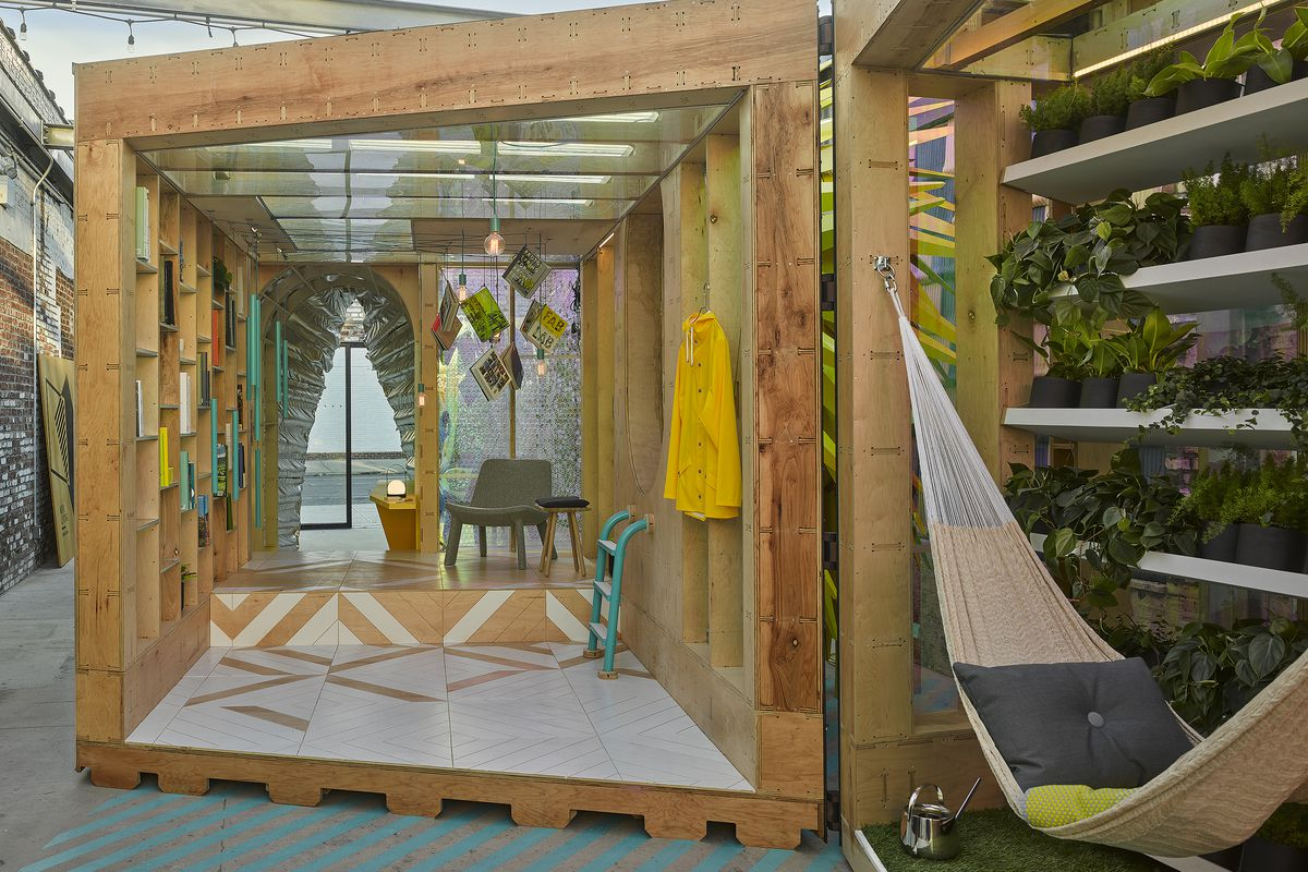 Home Design Ideas Pictures: MINI LIVING Unveils Latest Urban Cabin At A/D/O, Designed