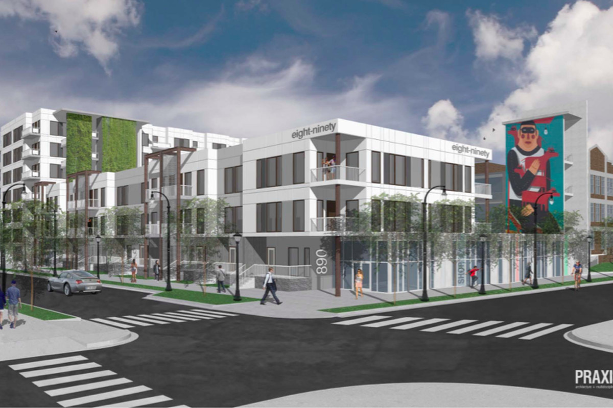 A scene from at the planned $26 millionMadison Reynoldstown.