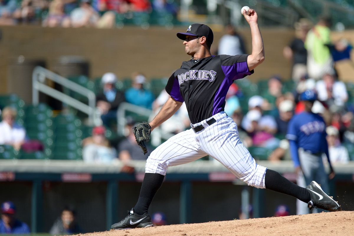 Dan Rosenbaum will be making his second start of Spring Training for Colorado today.