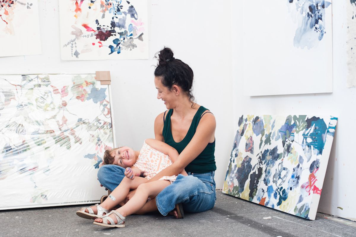 This Local Artist and Mother is Launching a Kids' Clothing Brand