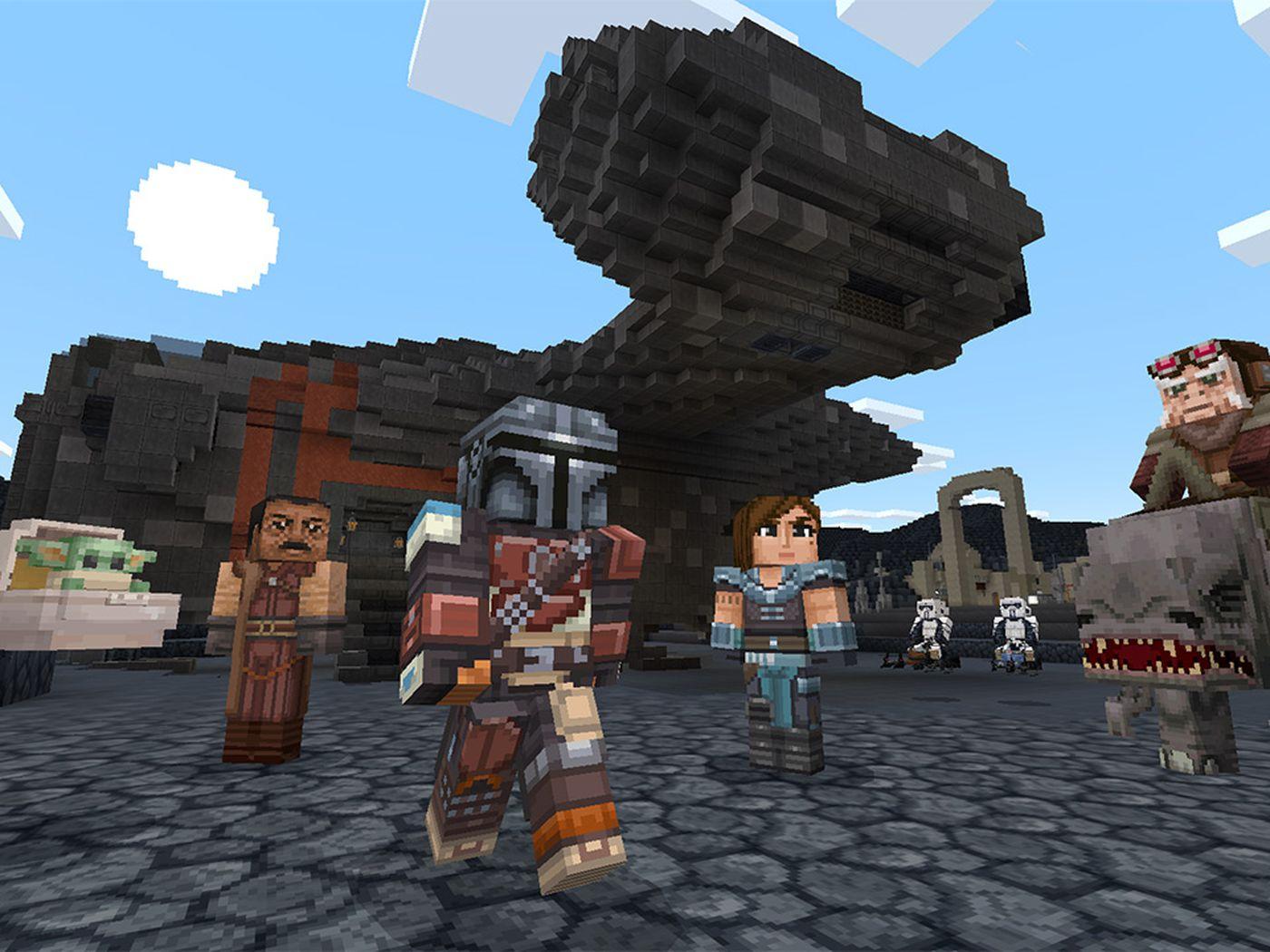 Minecraft Star Wars DLC adds Mandalorian, Baby Yoda, and original