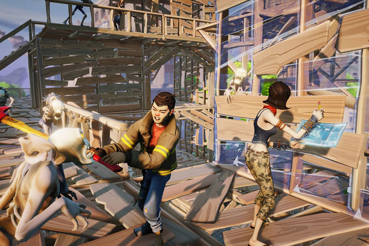What 39 s the future of games at epic games polygon for Chair in fortnite