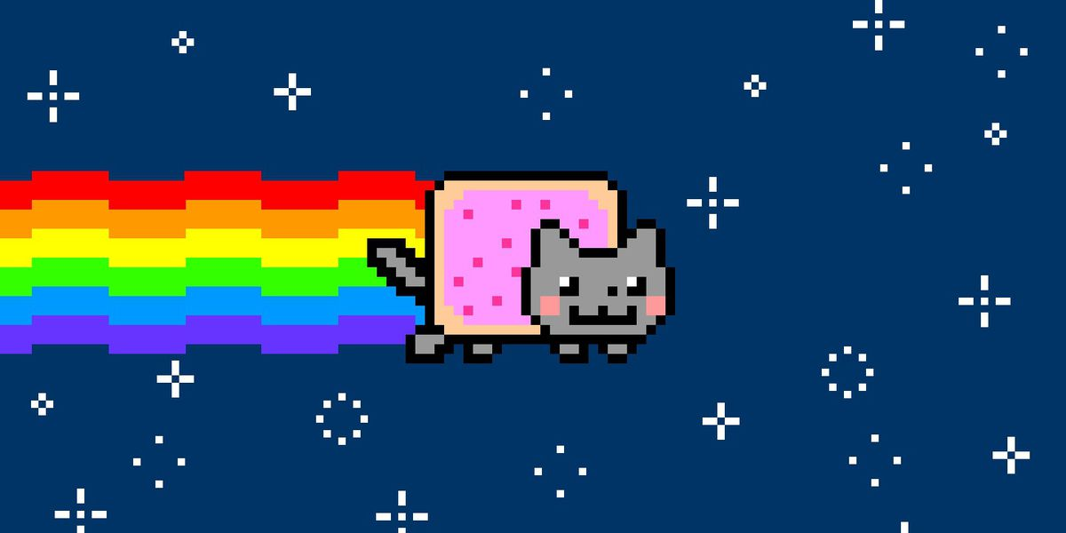 Nyan Cat is being sold as a one-of-a-kind piece of crypto art - The Verge