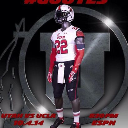 brand new 91598 4c218 Utah's Uniform Combo for UCLA Game - Block U