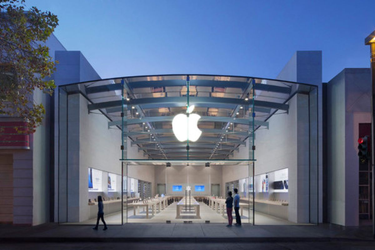 """Will the Apple store on University remain the only one in Palo Alto? Photo via <a href=""""https://www.apple.com/"""">Apple</a>"""