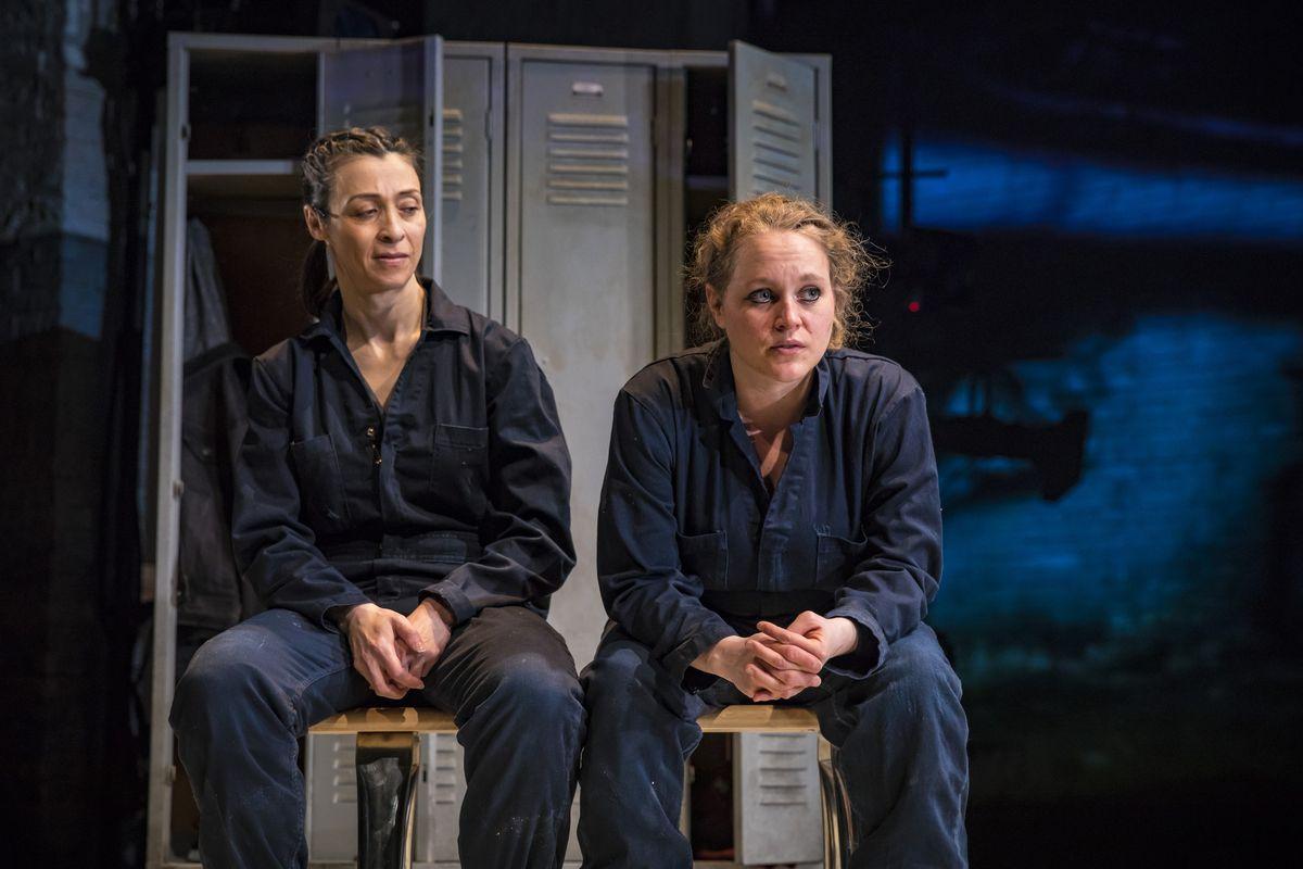 "Charin Alvarez (left) and Caroline Neff in a scene from ""Lettie"" at Victory Gardens Theater. | Liz Lauren"