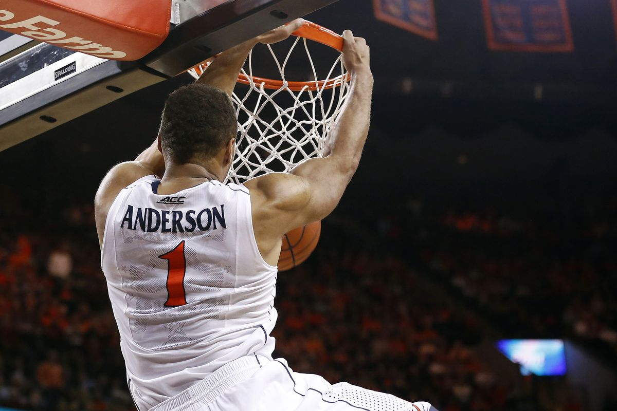 A boring slam dunk from Justin Anderson