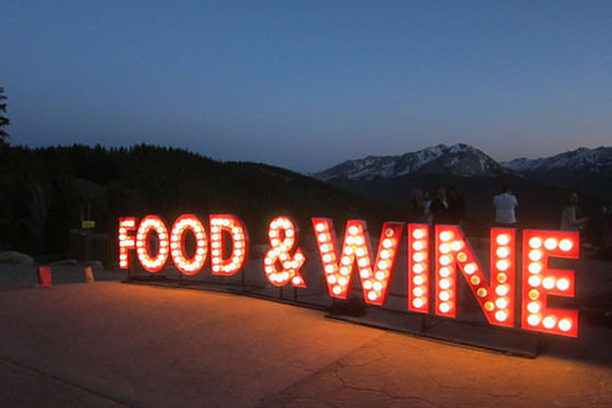 Aspen Food & Wine Classic 2013.