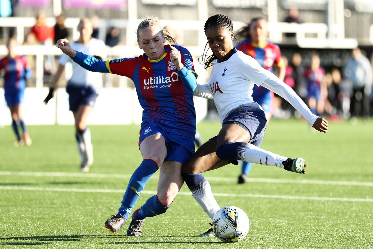 Crystal Palace Ladies v Tottenham Hotspur Ladies - SSE Women's FA Cup Fourth Round
