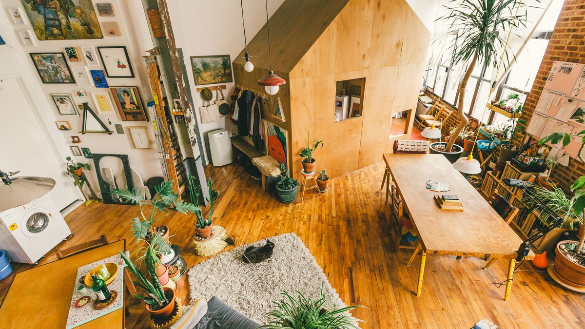 A treehouse grows in bushwick how one couple transformed for 8 living room tree houses powys