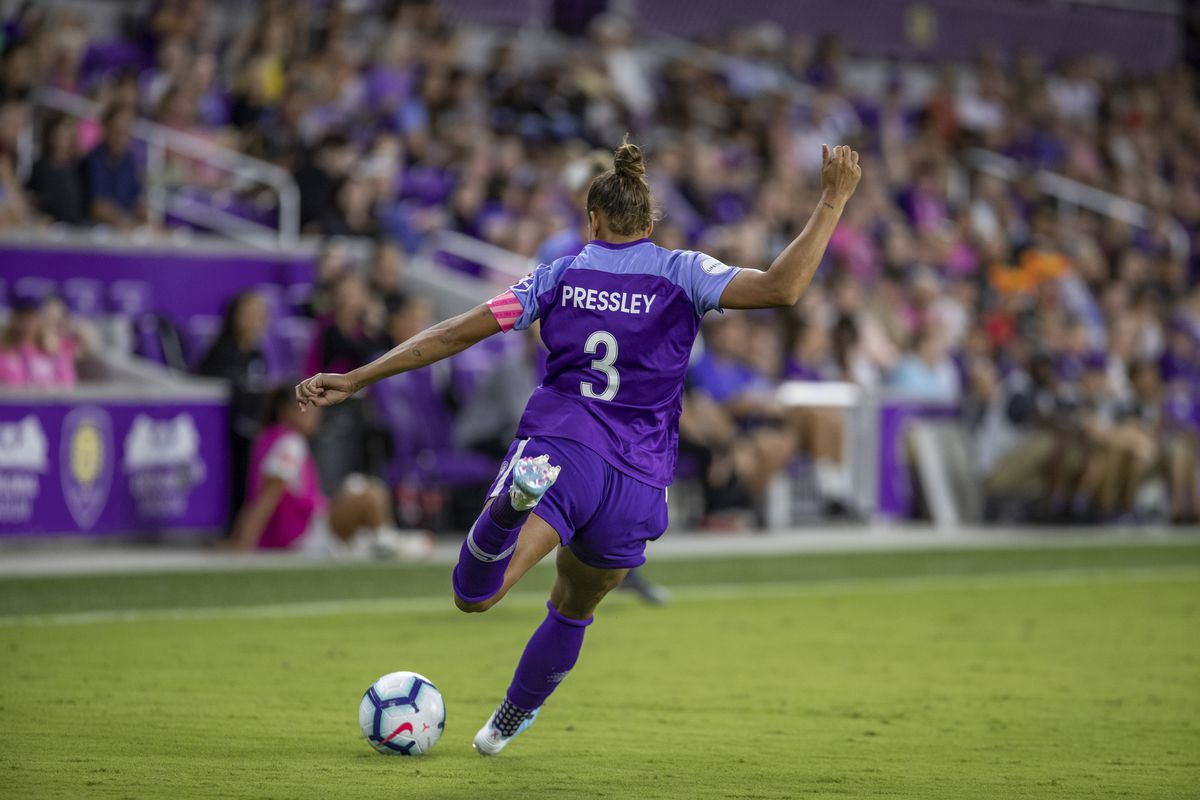 SOCCER: OCT 12 NWSL - Reign FC at Orlando Pride