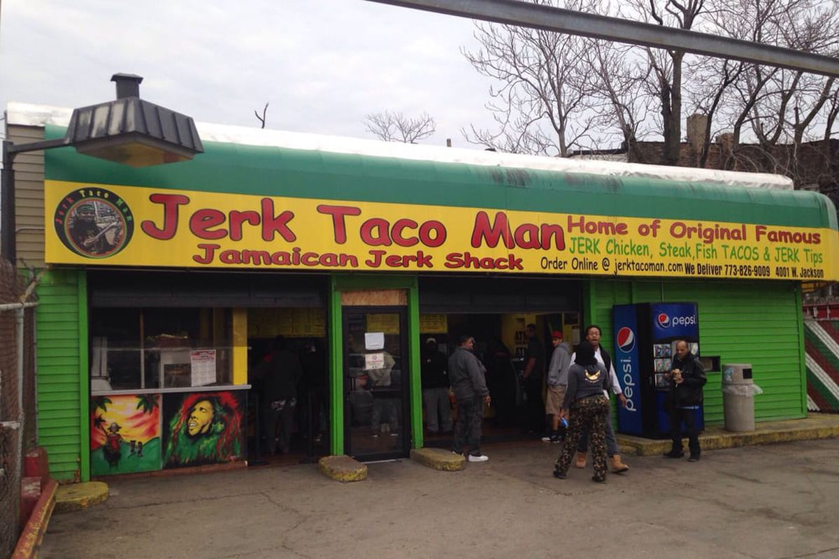 Jerk Taco Man Food Truck In Chicago