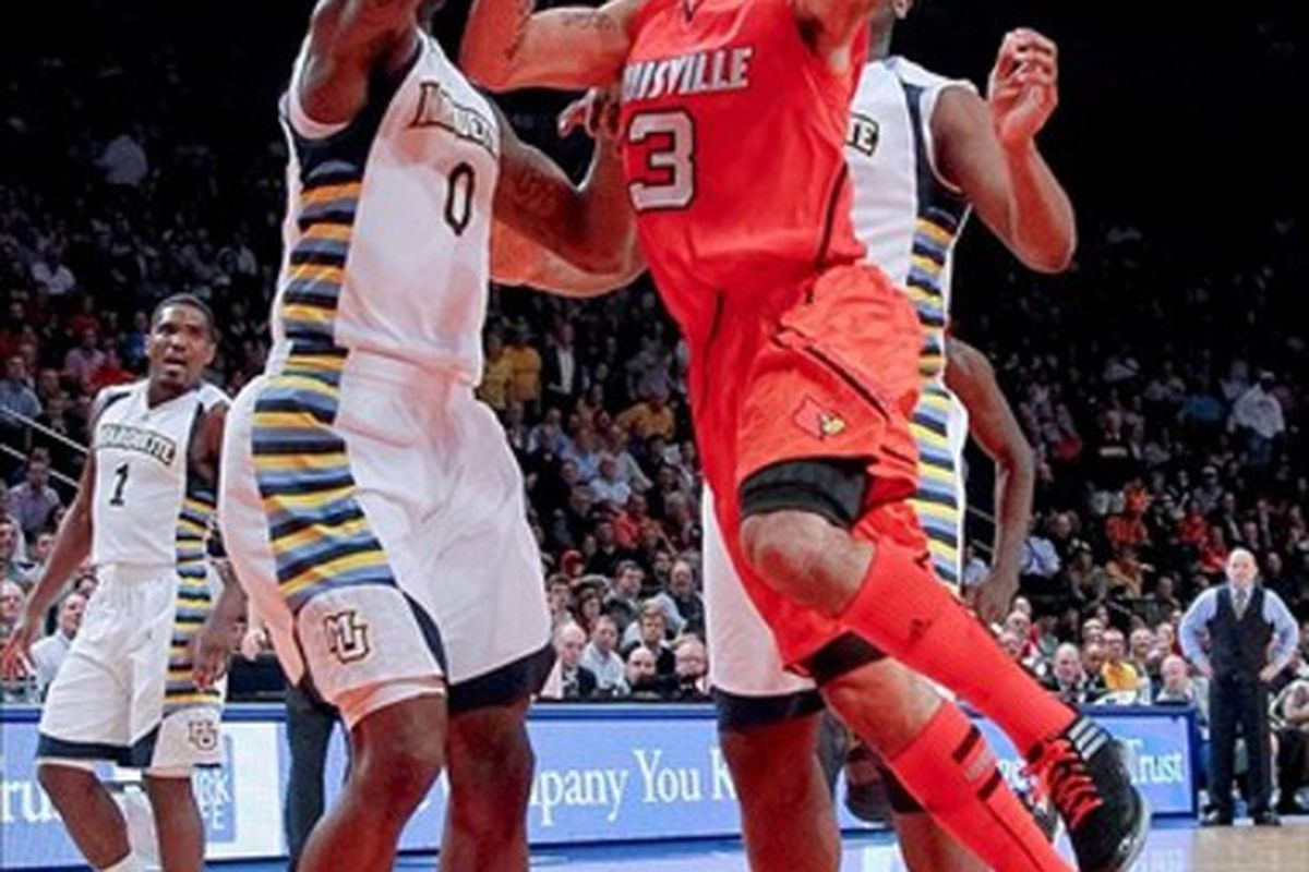Peyton Siva carved up the Golden Eagles in Madison Square Garden on Thursday night.